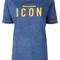 Dsquared2 - icon t-shirt - women - cotton - l, blue, cotton