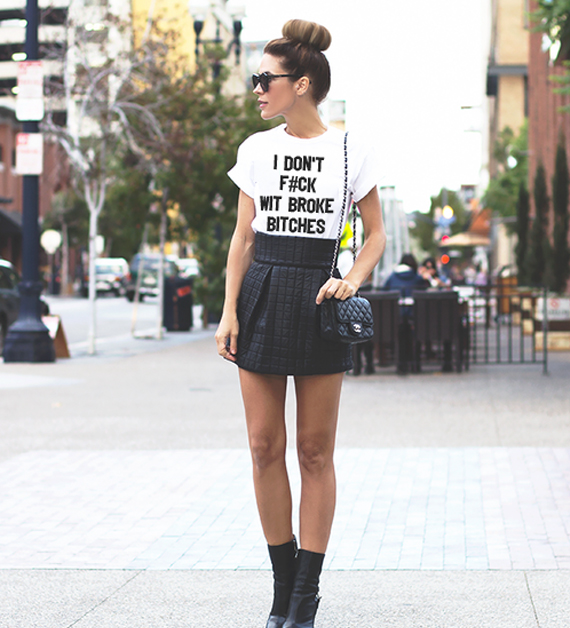 I don't f#ck wit broke bitches T-Shirt · Luxury Brand LA · Online Store Powered by Storenvy