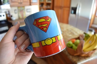 marvel mug superman