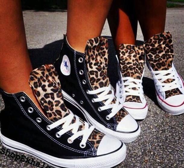 Converse Leopardenmuster Conversechucksdamensale De