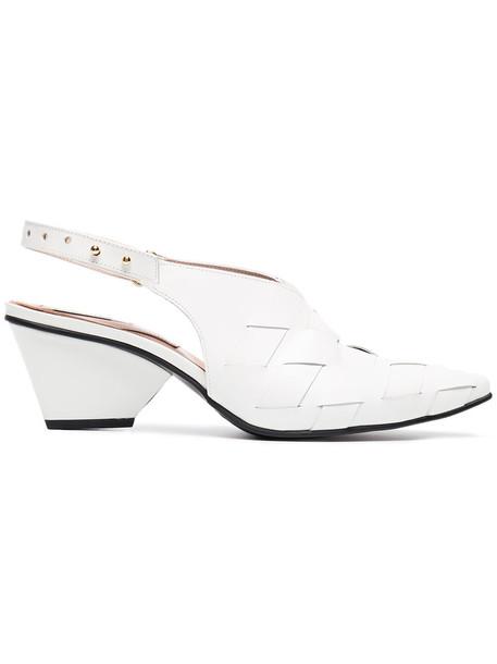 Reike Nen women pumps leather white shoes