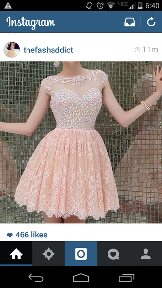 peach dress peach apricot sparkels sparkly dress