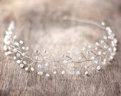 jewels,crystal,crystal headpiece,silver,hair band,stones,jewelery,bridesmaid,headband,hipster wedding,wedding accessories,PLL Ice Ball,beach wedding,wedding hairstyles,dress,hat,hair adornments
