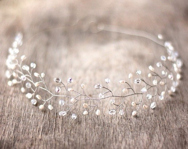 jewels crystal crystal headpiece silver hair band stones jewelery bridesmaid headband hipster wedding wedding accessories PLL Ice Ball beach wedding wedding hairstyles dress hat hair adornments
