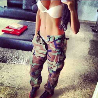 camouflage pants jeans cool loose fit cargo pants camo pants camoflauge pants