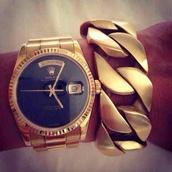 jewels,gold,watch,bracelets,rolex,chain,gold chain