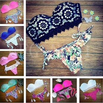 buy 2015 new sexy triangle bikini swimwear ladies beach swimsuit women swimwear. Black Bedroom Furniture Sets. Home Design Ideas