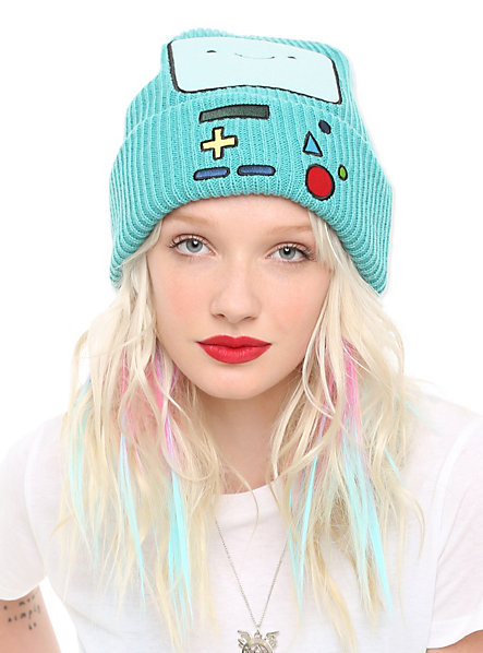 Adventure time bmo watchman beanie