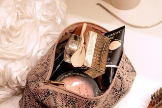 bag accessories make-up makeup bag python accessory cute beautiful bags beautiful girly hippie hipster classic classy hype