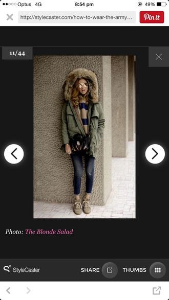 jacket faux fur khaki blogger fur coat