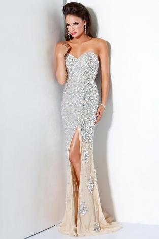 Crystal sweetheart dress