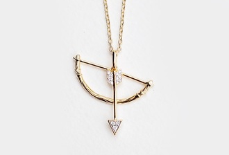 jewels gold cute arrow