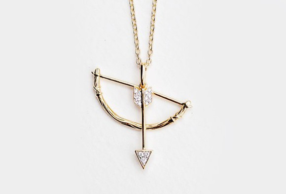 arrow cute jewels gold