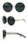 Retro inspired 90's oversized round sunglasses
