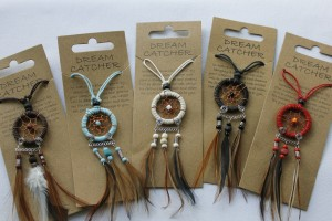 Dream catcher necklaces