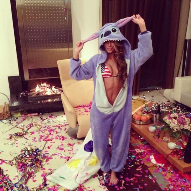 Christmas Footed Pajamas Adults