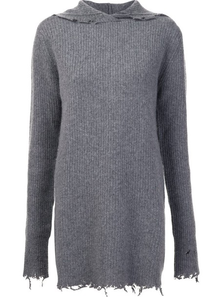 rta jumper women grey sweater