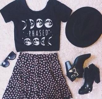rebel attitude cute spring summer outfits moon
