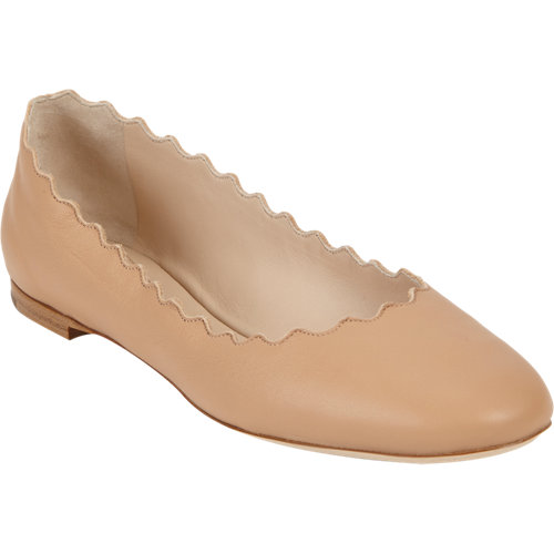 Chloé scalloped ballet flat at barneys.com