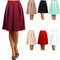 Poly pleat midi skirt – outfit made