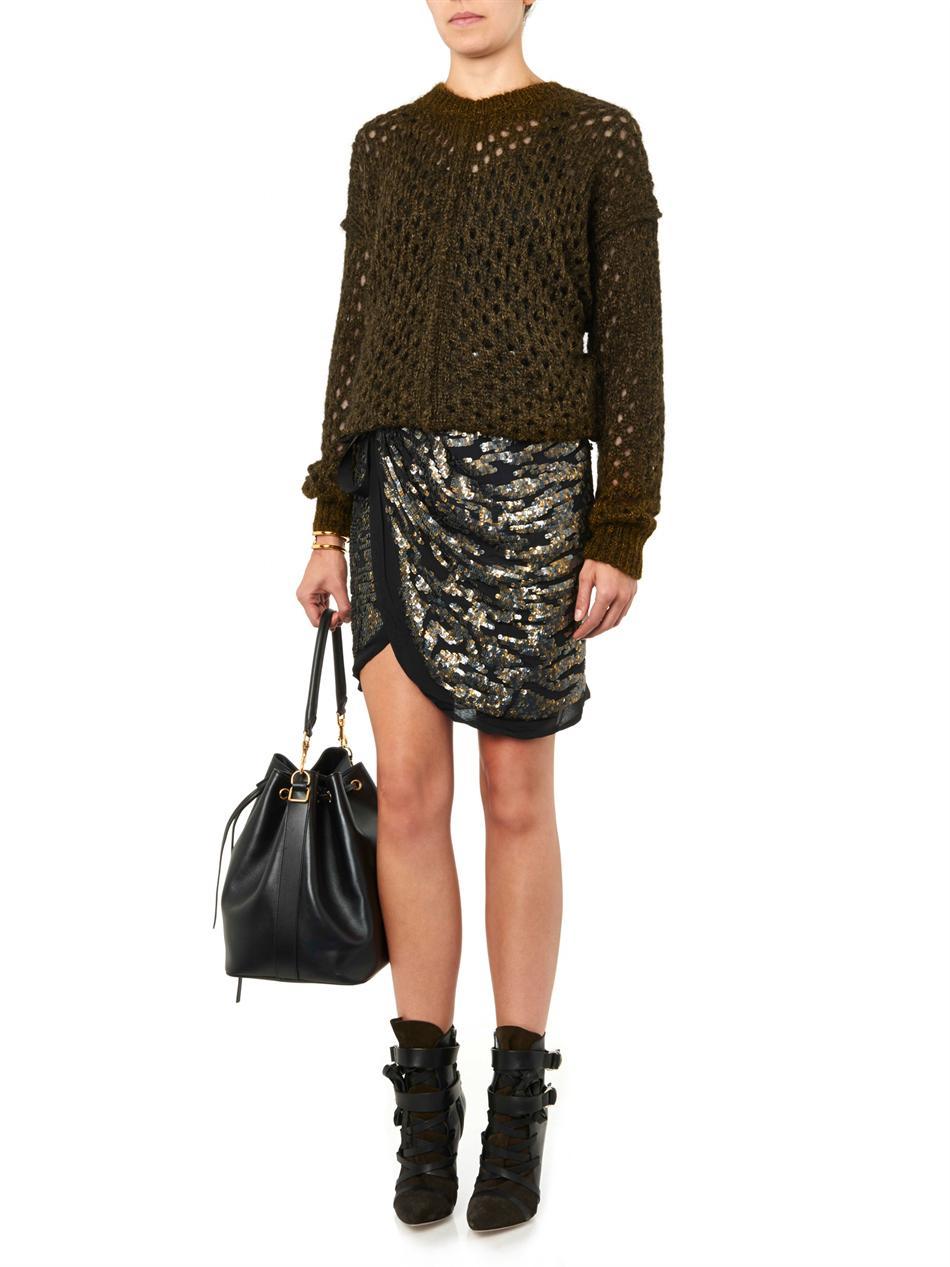 Tiana loose-knit sweater | Isabel Marant | MATCHESFASHION.COM