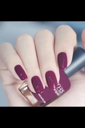 nail polish purple beautiful pretty style girly nails