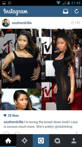 dress black little black dress body con nicki minaj gold accents two toned hair