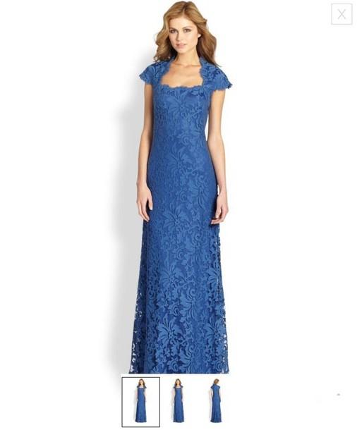 dress long blue lace longbluedress long dress size6 sizesix six formal