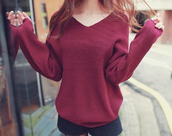 oversized sweater knitted sweater knitwear