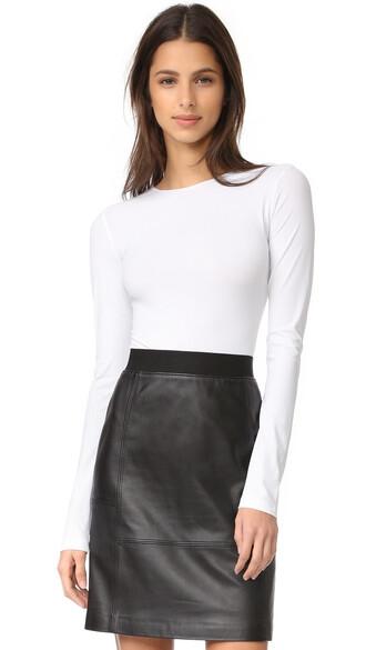 bodysuit thong white underwear