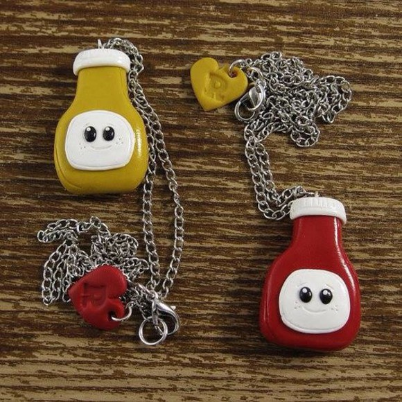 funny jewels necklace