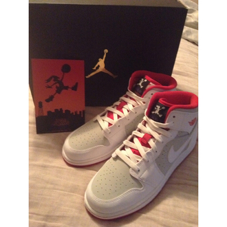shoes jordan jordans shoes jordans jordans 1 white grey nike nike shoes running running shoes