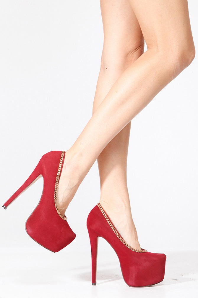 Burgundy shoes women   Clothing stores