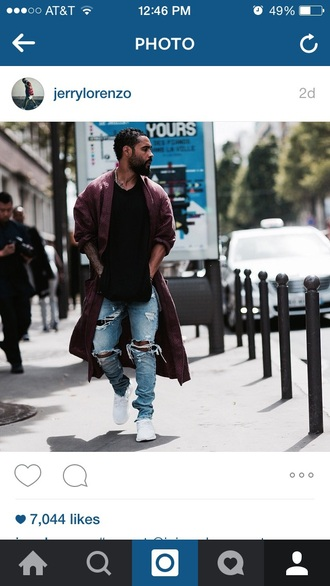 jeans ripped jeans men's ripped jeans