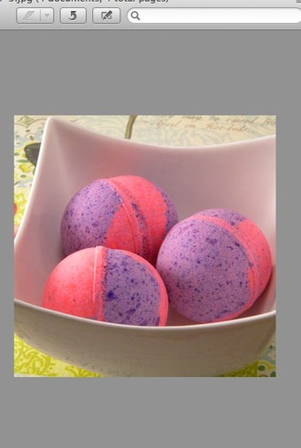 make-up bath bomb colorful girly body care
