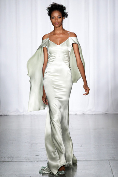 dress zac posen spring fashion long evening dresses