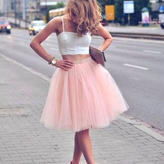 skirt tutu pink pink skirt tulle skirt