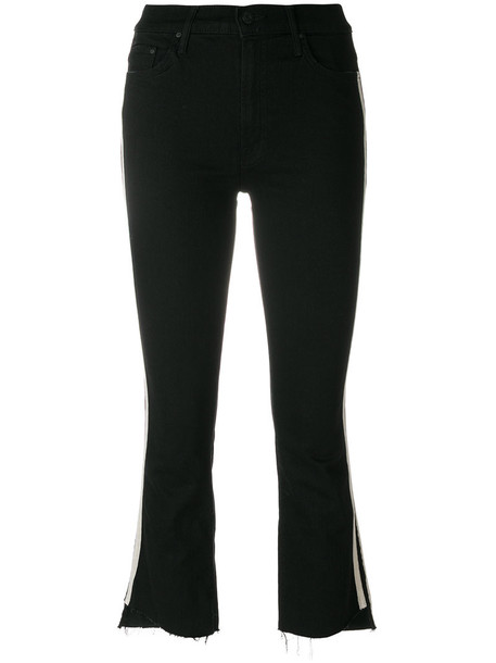 Mother jeans women spandex cotton black