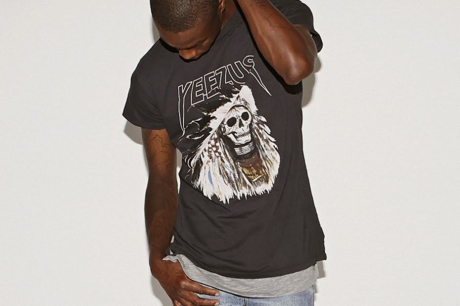 Yeezus Tour Merch Skeleton Men T Shirt Size s from Pacsun   eBayYeezus Tour Merch Sweatshirt