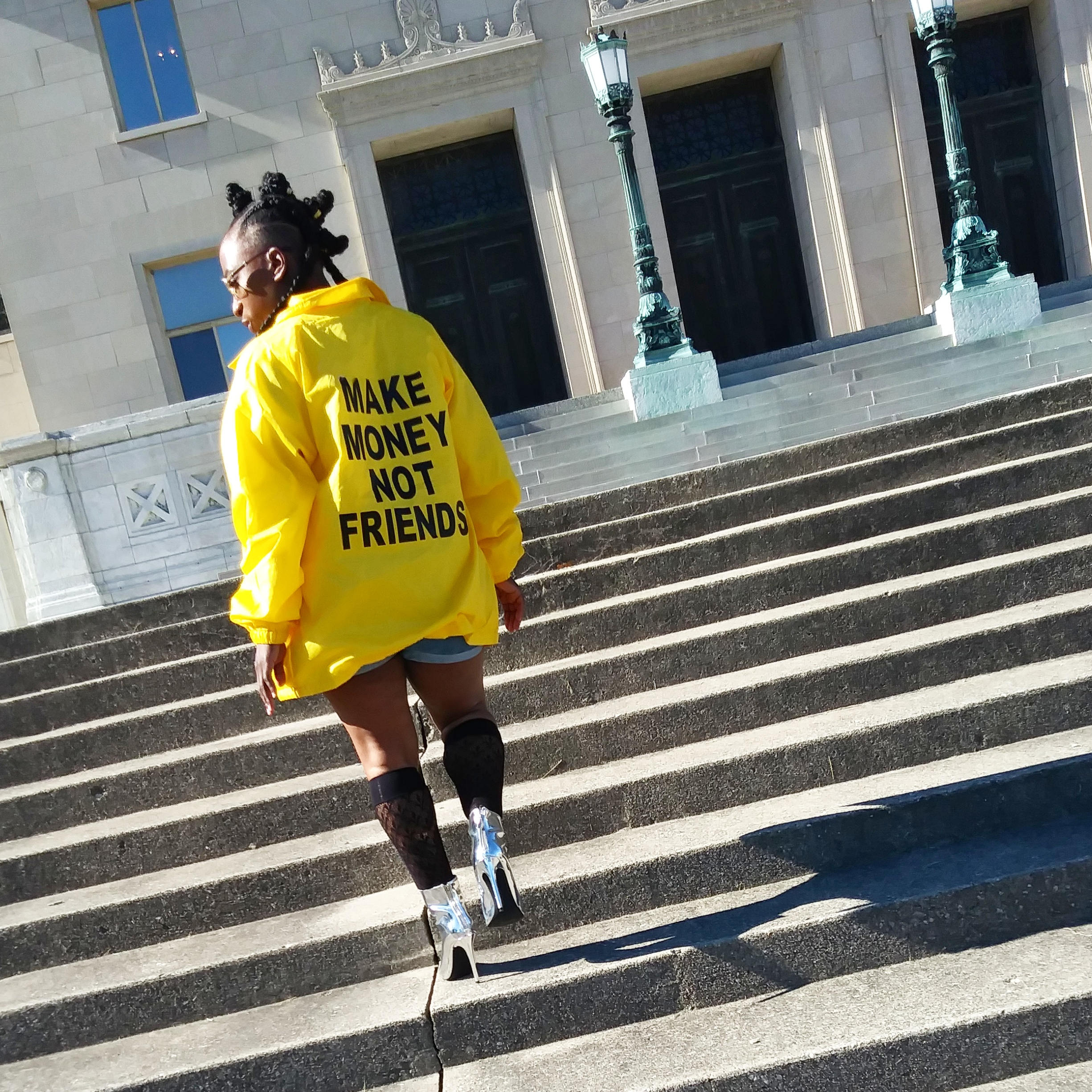 Make Money Not Friends Staff Jacket