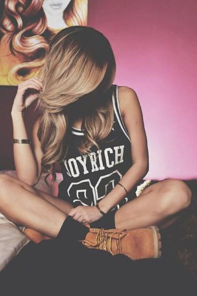 shirt joyrich girl dope jersey