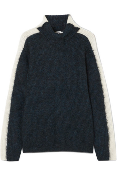 sweater turtleneck turtleneck sweater navy