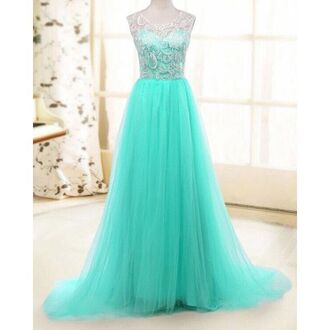 dress mint lace trendy maxi dress tulle dress fashion style clothes homecoming dress dec rose wholesale rose wholesale-dec