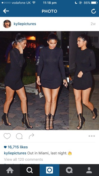 dress kylie jenner bodycon cute fashion