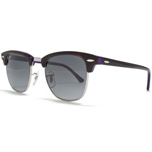 Ray-Ban Clubmaster Brown Purple - RB3016 112871 51 - Red Hot Sunglasses