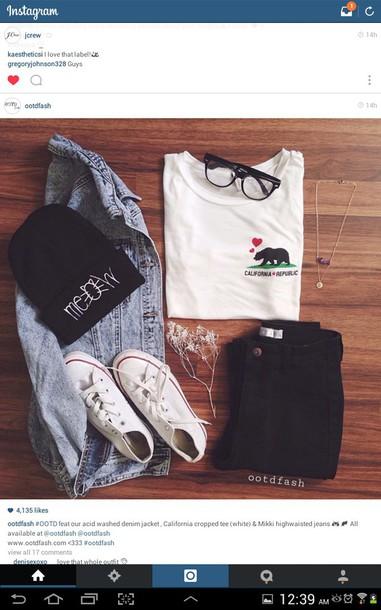 shirt ootdfash