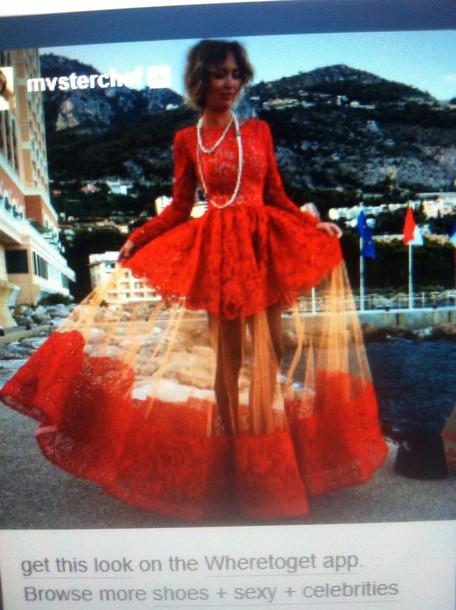 dress red dress prom dress maxi dress