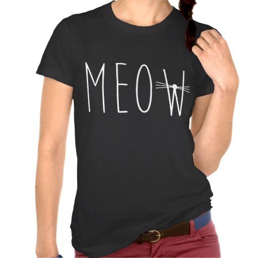 Meow tumblr shirt