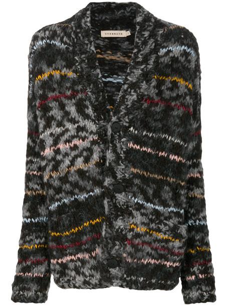Oneonone - striped cardigan - women - Cotton/Acrylic/Nylon/Virgin Wool - 0, Cotton/Acrylic/Nylon/Virgin Wool