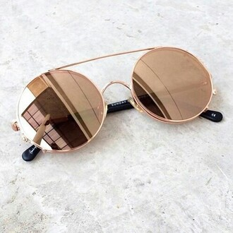 sunglasses tumblr round sunglasses mirrored sunglasses gold sunglasses